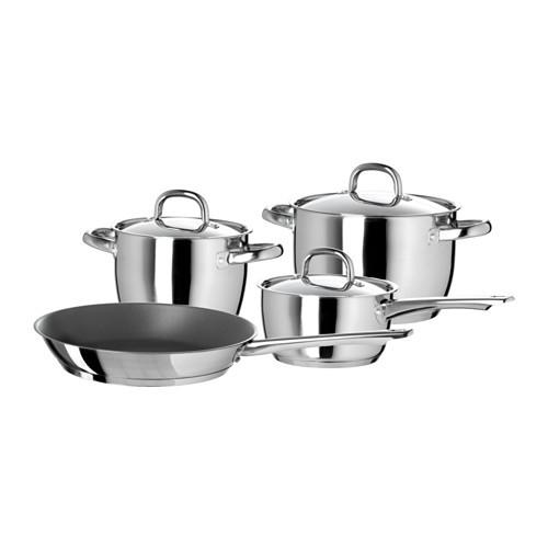OUMBRLIG 7-piece cookware set