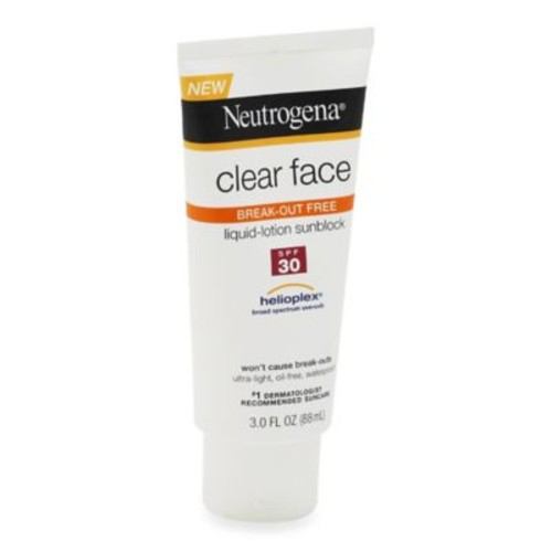 Neutrogena 3 oz. Clear Face Liquid Lotion Sunscreen SPF 30