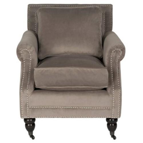 Karsen Club Chair Grey - Safavieh