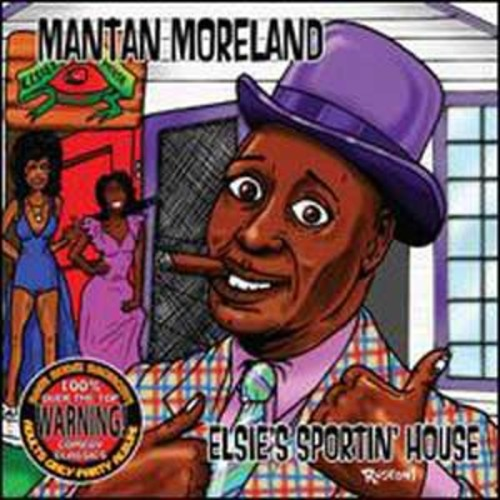 Elsie's Sportin' House By Mantan Moreland (Audio CD)