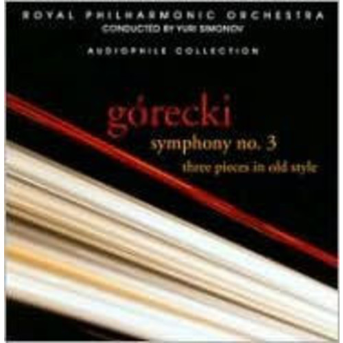Grecki: Symphony No. 3; Three Pieces in Old Style
