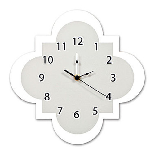 Trend Lab Gray Quatrefoil Wall Clock - JCPenney