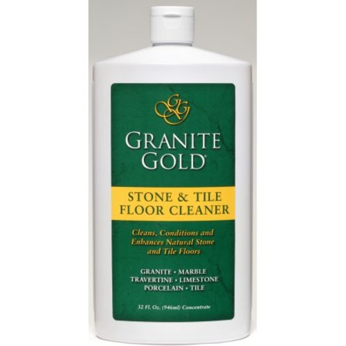 Granite Gold Stone & Tile Floor Cleaner concentrated no-rinse marble floor cleaner, travertine floor cleaner, slate floor cleaner, granite floor cleaner, tile floor cleaner, 32 oz. [Stone & Tile]