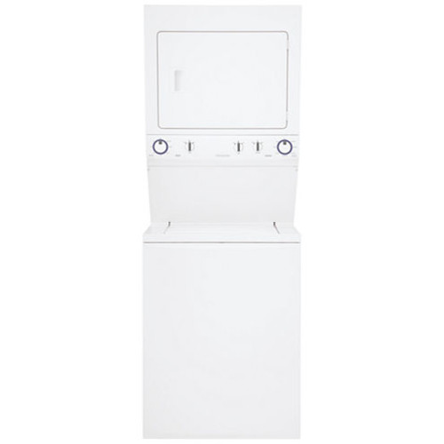 Frigidaire FFLE3911QW Unitized 3.8 Cu. Ft. Washer and 5.5 Cu. Ft. Electric High Efficiency Dryer