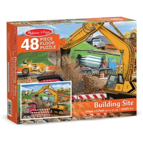 Melissa & Doug Building Site 48-pc. Floor Puzzle