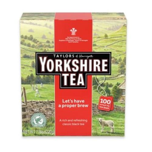 Taylors Of Harrogate 100-Count Yorkshire Black Tea Bags