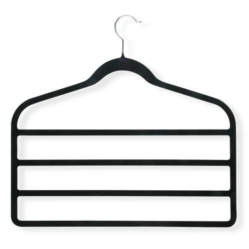Honey-Can-Do HNG-01943 Ultra Thin Non-Slip Velvet Hangers, 2-Pack, Tan [Tan]