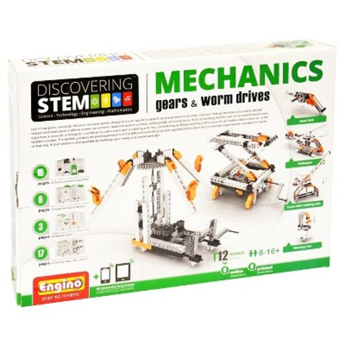 Engino STEM Mechanics Gears and WormDrives