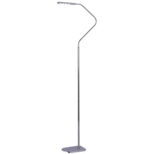 Kenroy Home Bently LED Floor Lamp in Chrome