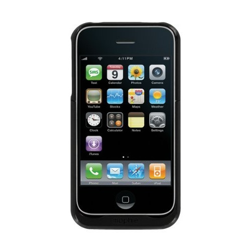 Mophie Juice Pack Air Case and Rechargeable Battery for iPhone 3G, 3GS