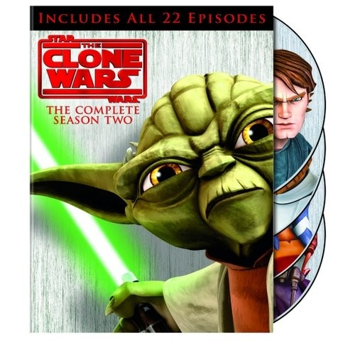 Star Wars: The Clone Wars - The Complete Season Two [4 Discs] [DVD]
