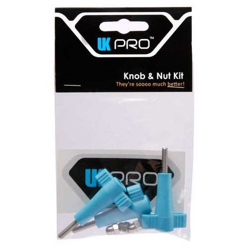 UKPro - 3-Piece Knob and Nut Accessory Kit for GoPro