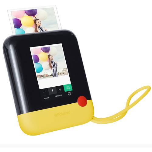 Pop Instant Print Digital Camera (Yellow)
