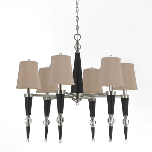 8235-6H Hollace Crystal Chandelier