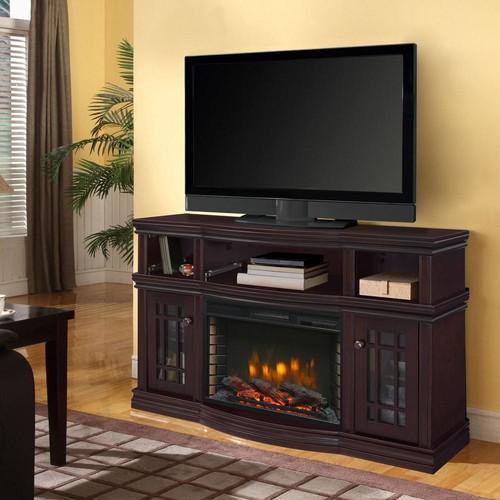 Muskoka Sutton 56 in. Media Electric Fireplace TV Stand in Espresso