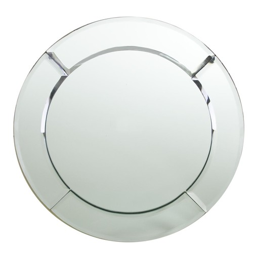 ChargeIt! by Jay Mirror Round Chargers (Pack of 2)