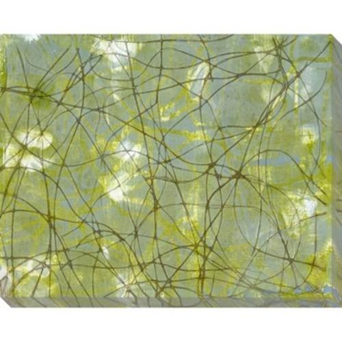 String Theory IV Unframed Wall Canvas Art - (24X30)