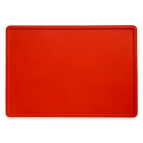 Silicone Pet Placemat in Red