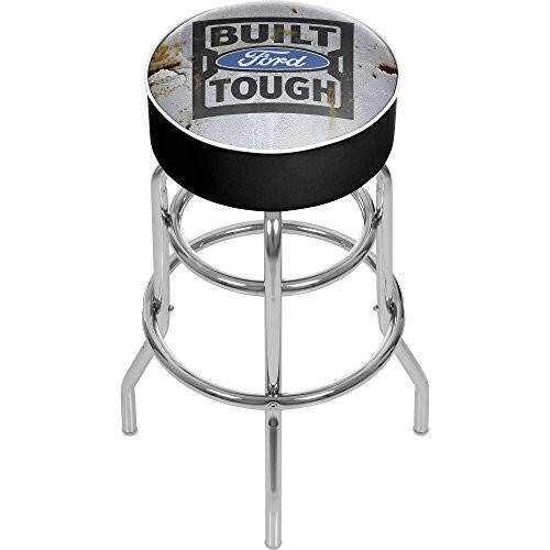 FORD Padded Swivel Bar Stool - Built Tough