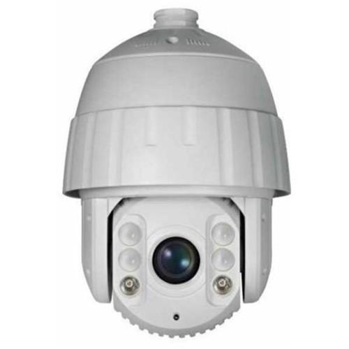 Securitytronix IP-NP302 Outdoor 2MP PTZ IR Dome Camera, 20x Optical Zoom, White