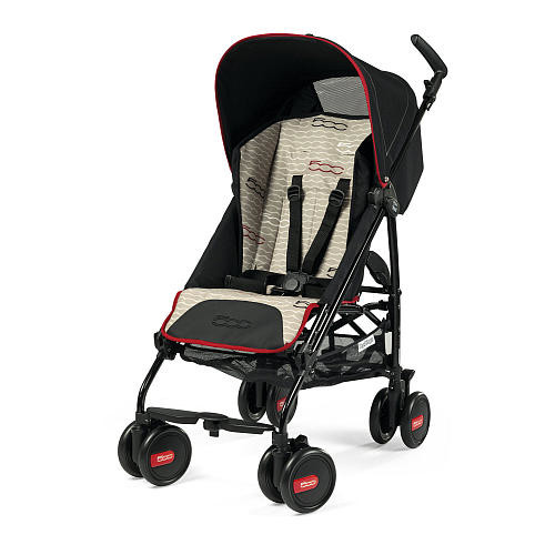 Peg Perego Pliko Mini Lightweight Stroller - Fiat 500