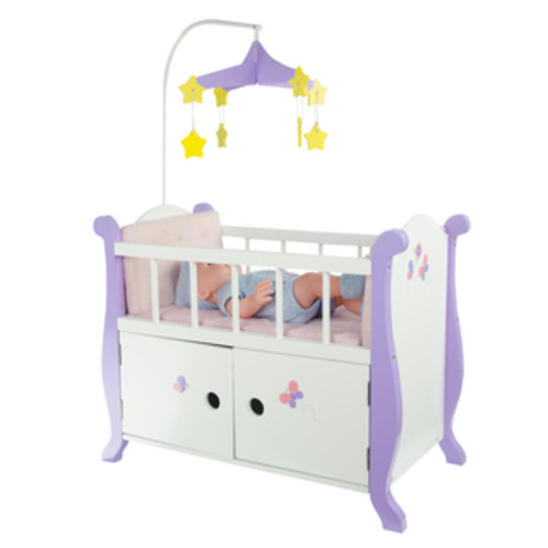 Olivia's Little World Little Princess 18-inch Doll Carousel Rocking Horse