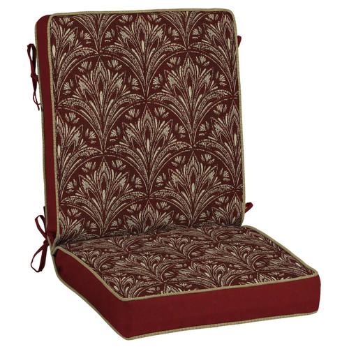 Bombay Outdoors Royal Zanzibar Medallion Reversible Chair Cushion