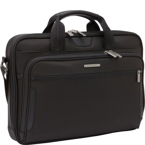Briggs & Riley Medium Slim Laptop Brief