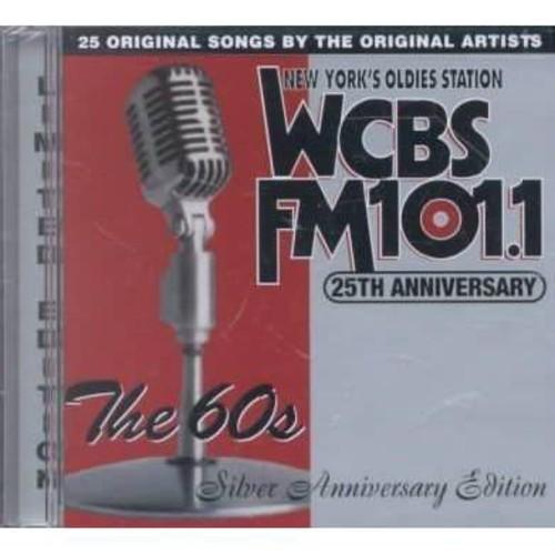 WCBS 25th Anniversary 2 Best of 60's CD (2000)