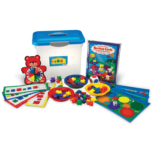 Learning Resources Three Bear Family Sort Pattern Play Gr Pk-2 Activity Set