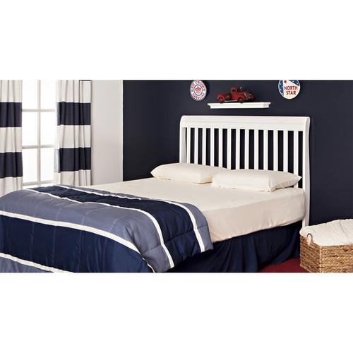 Dream On Me Ashton White 5-in-1 Convertible Crib