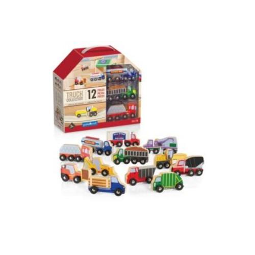 GUIDECRAFT - Wooden Truck Collection Set
