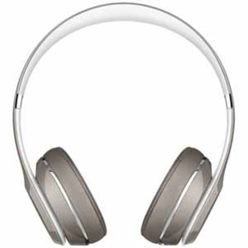 Beats Shine On Solo 2 On-Ear Headphones - Silver