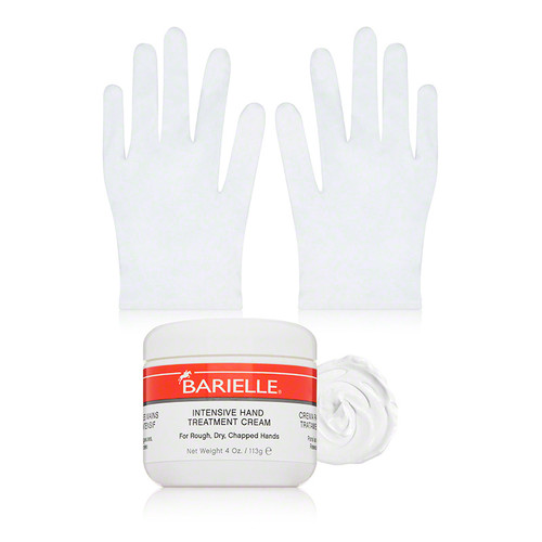 Intensive Hand Treatment Cream With Gloves (3 piece)