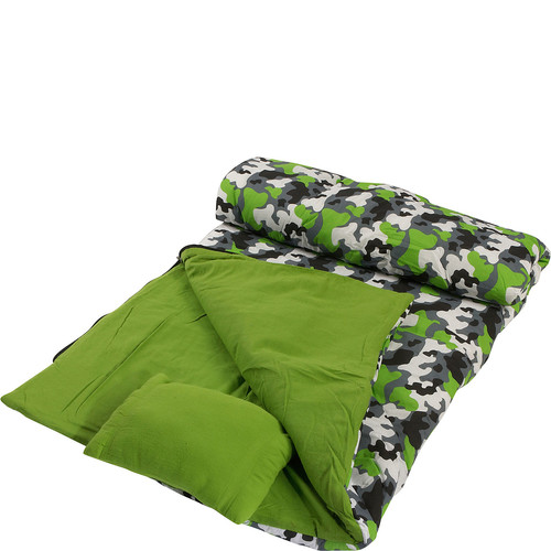 Wildkin Camouflage Sleeping Bag
