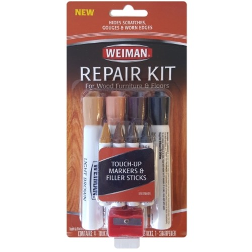 Weiman 9 pc. Wood Furniture and Floor Repair Kit(6 Pack)(511D)