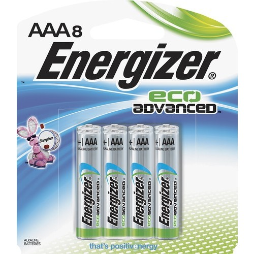Energizer - EcoAdvanced AAA Batteries (8-Pack)