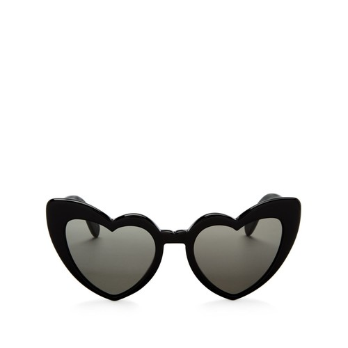SAINT LAURENT Heart Cat Eye Sunglasses, 53Mm