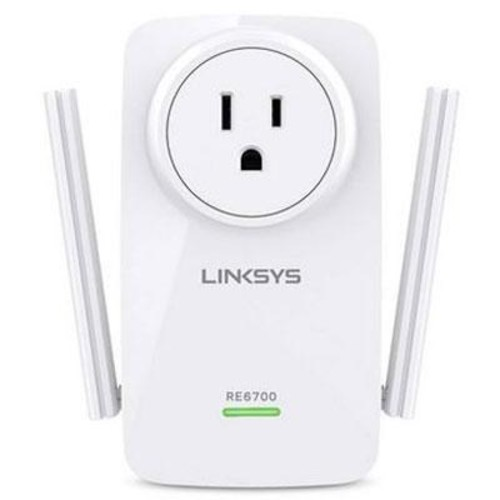 Linksys AC1200 Dual Band High-Power Wi-Fi Gigabit Range Extender - RE6700