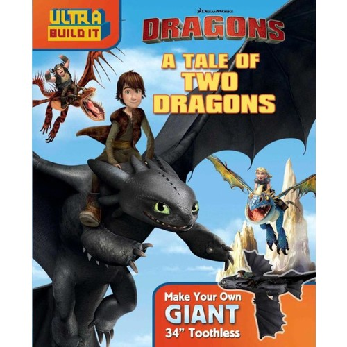 DreamWorks Dragons A Tale of Two Dragons Ultra Build It Book
