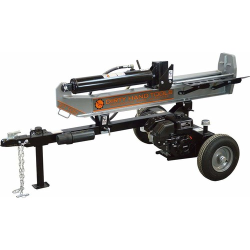 Dirty Hand Tools 100408, 27 Ton Horizontal/Vertical Gas Log Splitter with 196cc Kohler SH265 Engine