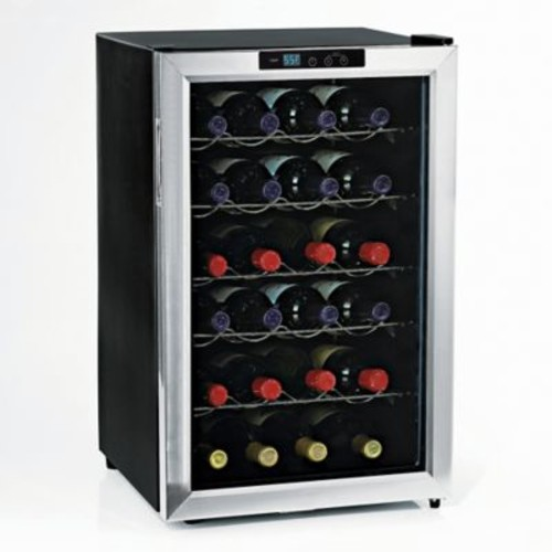 Wine Enthusiast Silent 28-Bottle Single Zone-Wine Cooler