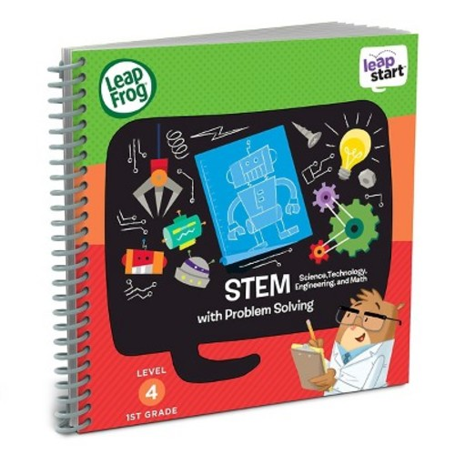 LeapFrog LeapStart 1st Grade Activity Book: STEM (Science, Technology, Engineering, and Math) and Problem Solving
