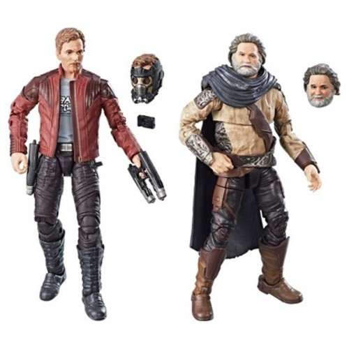 Marvel Legends Guardians of the Galaxy Vol. 2 Marvel's Ego & Star-Lord 2pk