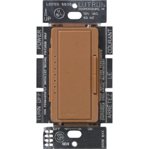 Lutron MSC-1000M-TC Maestro 1000-watt Multi-Location Digital Dimmer, Terracotta [Terracotta]