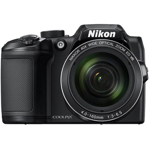 Nikon COOLPIX B500 16MP 40x Optical Zoom Digital Camera w/ Built-in Wi-Fi - Black