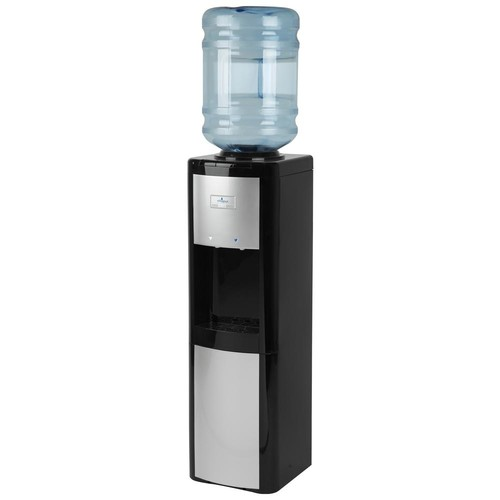 Vitapur Top Load Cold and Room Temperature Water Cooler in Black and Platinum