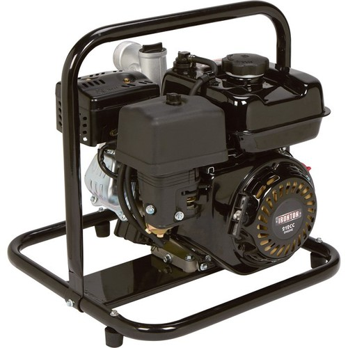 Ironton Self-Priming Clear Water Pump  7860 GPH, 6 HP, 2in. Ports,