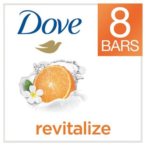 Dove go fresh Revitalize Bars 4 oz, 8 Bar