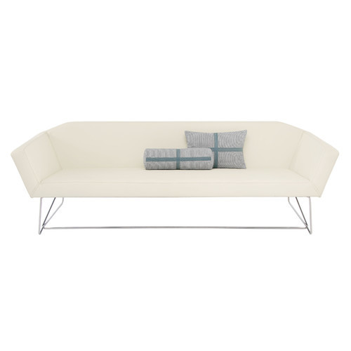 Swept Sofa by Blu Dot [Upholstery : White]